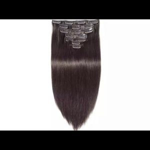 NEW IN PACKAGE 18 inch Malaysian Hair Clip-ins